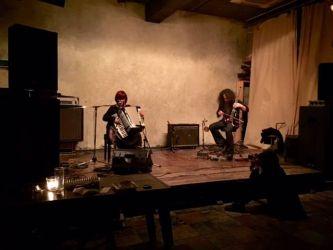 Nov. 22 2014Kawabata Makoto et à qui avec Gabriel@UrBANGUILD,Kyoto by Takayuki Hashimoto